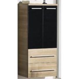 Мебель для ванной Gorenje 786285 AVON черн.-орех шкаф 60см и стол. (BKG 60.18)