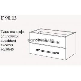 Мебель для ванной Gorenje 786109 AVON чёрн.-венге база 90см (F 90.13)