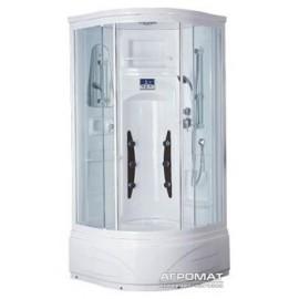Гидромассажный бокс Flory Г/М бокс FSR60423 white (3уп) 900*900*2100