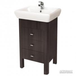 Мебель для ванной Cersanit IRYDA Тумба venge д/раков. IRYDA-50