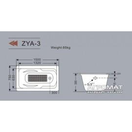 Чугунная ванна Goldman Angel ZYA-3 150х75 см