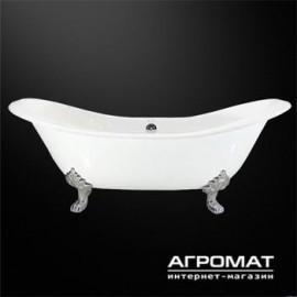 Ванна Devit 17278142 Charlestone ванна чавун. 1829*785*455*670мм біла