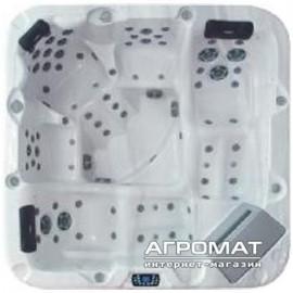 Бассейн VAGNERPLAST VP7550G Premium SPA Басейн (конфігурація SKT329A) + кришка -Silver Marble/Grey