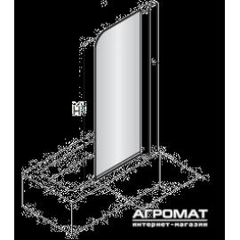 Шторка на ванну Devit Quest FEN0793P правая, стекло шиншила, одностворчатая