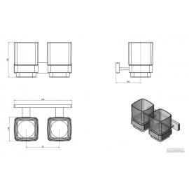 Стакан Devit Graphics 2.0 19D8126