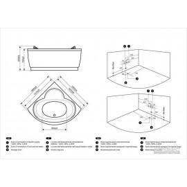 Гидромассажная ванна Devit Fresh 15030121
