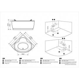 Гидромассажная ванна Devit Fresh 15010121