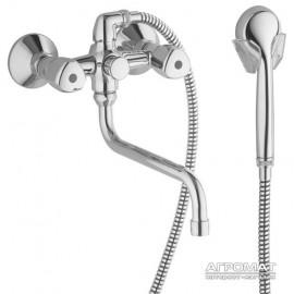 Смеситель для ванны Kludi STANDARD 251230515 с душевым набором