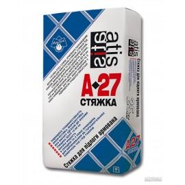 Стяжка для пола Atis A-27 армированная стяжка, 25 кг