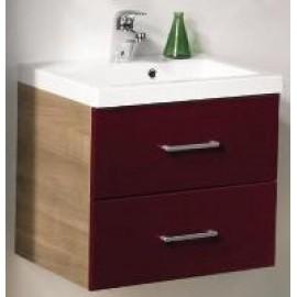 Мебель для ванной Gorenje 748153 QUADRA NOCCE-RED тумба с умыв. (2ч.)