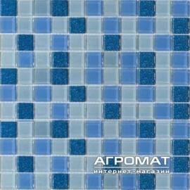 Мозаика BETTER-мозаика B-MOS MA-01 голубая (23шт)
