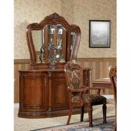 Буфет Furniture Design Furniture Classic (орех) 8981 с зеркалом