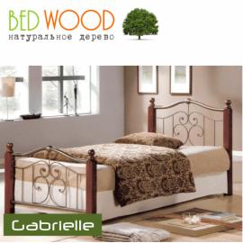 Кровать односпальная BedWood Gabrielle 90*190