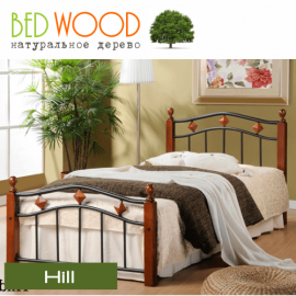 Кровать односпальная BedWood Hill 90*190