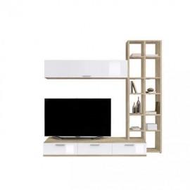 Шкаф навесной Arte-M Game Plus (oak HN/white HG) 343 1967