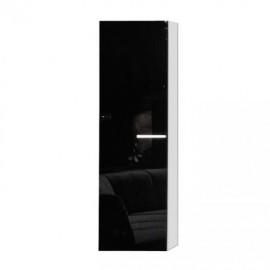 Шкаф навесной Arte-M Game (white/glass black) 347 185
