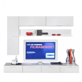 Шкаф навесной Arte-M Game (white/white) 347 180