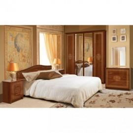 Спальня Свит Меблив Флоренция 4Д (каштан)
