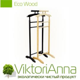 Вешалка для костюмов EDom Eco Wood One