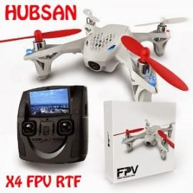 Hubsan X4 H107D 2.4Ghz + 5.8Ghz RTF с видеокамерой и FPV
