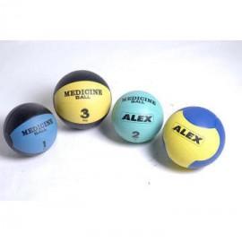 Медицинский мяч от 1 до 10 кг. Alex FT-MB