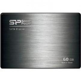 Накопитель Silicon Power 60 GB SSD Velox V60 SATAIII 2.5 (+3.5 адаптер)