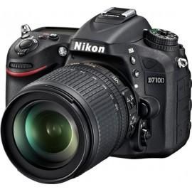 Цифровая зеркальная фотокамера Nikon D7100 Kit (18-105VR)