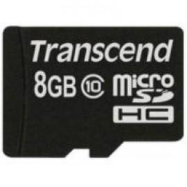 Карта памяти Transcend microSDHC 8 GB Class 10