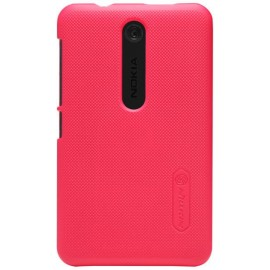 Чехол Nillkin Nokia Asha 501 - Super Frosted Shield Red