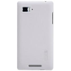 Чехол Nillkin Lenovo K910 - Super Frosted Shield White