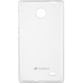 Чехол Melkco Nokia X/X+ Poly Jacket TPU Transparent