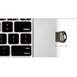 Flash Drive Silicon Power Touch T01 8 GB Black, no chain