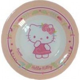 Тарелка LUMINARC HELLO KITTY nordic flower 195мм десертная