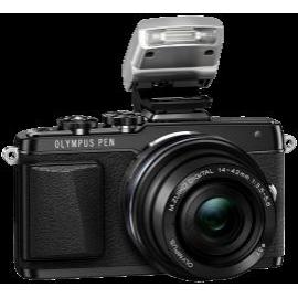 Цифровая системная фотокамера Olympus E-PL7 14-42 mm Pancake Zoom Kit black/black