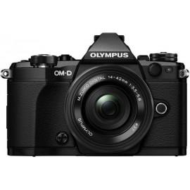 Цифровая системная фотокамера Olympus E-M5 mark II Pancake Zoom 14-42 Kit Black/Black