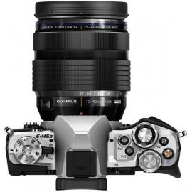 Цифровая системная фотокамера Olympus E-M5 mark II 12-40 PRO Kit silver/silver