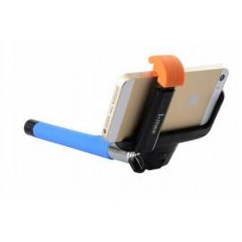 Универсальный беспроводной селфи стик I-MEE Rolipod Selfie Wireless Ctrl Shutter Blue