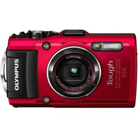 Цифровая фотокамера Olympus TG-4 Red