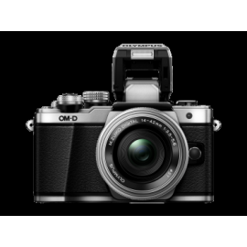Цифровая системная фотокамера Olympus E-M10 mark II Pancake Zoom 14-42 Kit silver/silver