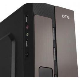 Корпус DTS miniITX/mATX TD-M01 Slim 400W Black