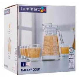 Набор LUMINARC GALAXY GOLD, 7 предметов