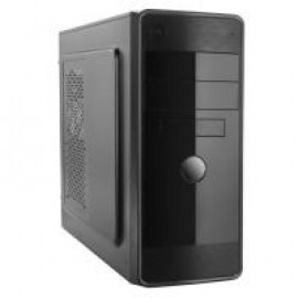 Корпус Logicpower 1702 400W Black case chassis cover