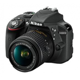 Цифровая фотокамера Nikon D3300 + AF-P 18-55VR KIT