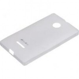 Чехол Melkco Microsoft Lumia 435 Poly Jacket TPU Transparent