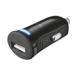 Автомобильное зарядное устройство Trust 5W Car Charger Black
