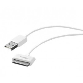 Кабель Trust 30-pin cable for Apple - 1M White