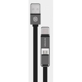 Кабель Nillkin Plus Cable - 120см Black