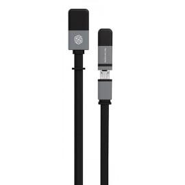 Кабель Nillkin Plus Cable II - 120см Black