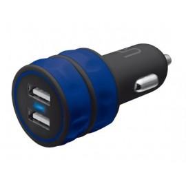 Автомобильное зарядное устройство Trust URBAN Dual Smart Car Charger Blue