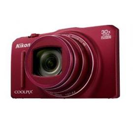 Цифровая фотокамера Nikon Coolpix S9700 Red kit + 8Gb